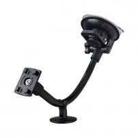 "Ultra Large Suction Cup Windshield / Dashboard Mount for iPad Mini - Pro 12.9' (7.0-15.0"" Tablets)"