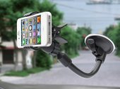 Quick-Release Car Dashboard / Windshield Mount for Smartphones