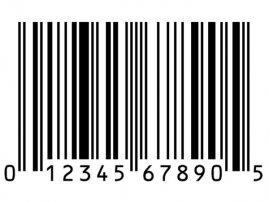 Upc Universal Product Code Bar Code Sticker Label