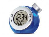 Water Powered LCD Alarm Clock with Thermometer / Calendar