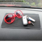 Non-Slip Car Dashboard Mat / Sticky Pad for Cell Phone / DVD / Sunglasses / Coins / Tablets / Keys