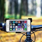 360 Degree Rotation Exercise Motorcycle / Bike Handlebar Mount for iPhone / Smartphones / iPods