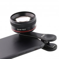CL06Clip EF70mm Portrait Lens / Photography Zoom Lens for iPhone / iPad / Smartphones / Tablets