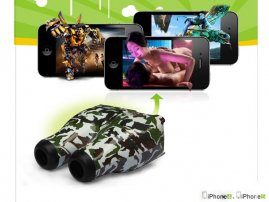 3D Telescope for iPhone 5 / iPhone 4s / iPhone 4