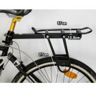 Quick-Release Seatpost-mounted Commuter Carrier / Rear-Mount Bicycle Cargo Rack