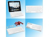 QWERTY Keyboard for iPad / iPhone with stand