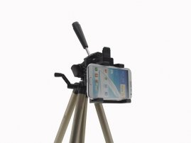Camera Phone Tripod Mount / Holder (for Phablet / Galaxy Note / iPhone 6 Plus / Sony Xperia Z Ultra)