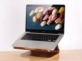 Samdi Wood Computer (Notebook, Laptop, Macbook) Stand / Cabinet