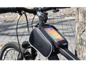 Cycling Bike Bicycle Front Top Tube Frame Pannier / Double Bag / Pouch for 5.5in Phones