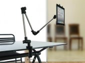 Adjustable Extra Long / Arm Extension Table / Desk / Shelf Mount / Holder For iPad Air / Tablets