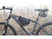 Triangle Shaped Bicycle / Bike Frame Bag / Tube Bag / Frame Pannier