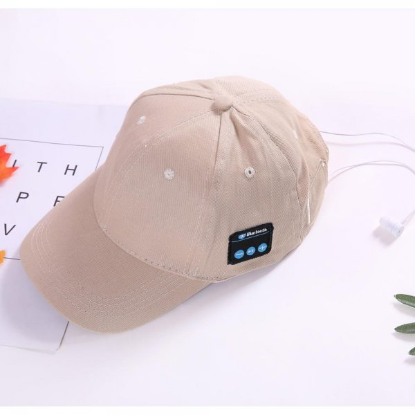 Bluetooth Runner's Baseball Cap for iPhone / Smartphones - Click Image to Close