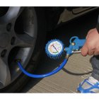 Bike / Car Air Inflator with Gauge / Tire Inflator / 3-in-1 Inflation Gun