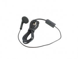 Single-Ear Mono Earphone (6ft Cord, 95cm)