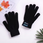 Wireless Bluetooth Gloves, Winter Touch Screen Gloves with Built-in Stereo Speakers for Smartphones