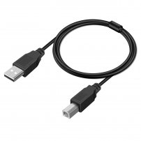 USB A to USB B OTG Cable for Music Instruments / Guitar / Drums / Piano / MIDI Controller, Keyboards