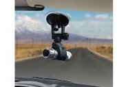 Car Windshield Mount for Tube-type / Pipe-shaped / Microphone / Blackbox / Flashlight
