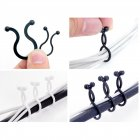 Assorted Size Cable Twist Ties / Cable Organizer / Cord Management Clips (Small, 30 pieces / pack)