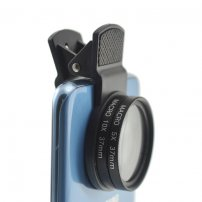 Cloth-Clip Pro 37mm 5X / 10X Macro Lens for iPhone / iPad / Samsung Galaxy / HTC / LG Phones