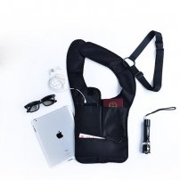 Travel / Outdoor Anti-Theft Safety Hidden Underarm Shoulder Bag for iPad / iPhone / Phones / Tablets