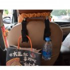 4 Pack Car Seat Headrest Hooks / Universal Vehicle Car Seat Bottle Holder / Hook for Coats, Bags