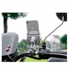 Firm Alloy Motorbike / Motorcycle Handlebar Mount for iPhone and Smartphones