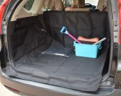 Oxford Cloth Scratch Proof / Water Proof Washable Car Cargo Cover For Dogs and Cats & Pets