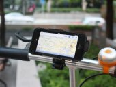 Custom-Fit Bicycle / Bike Handlebar Mount & Holder for iPhone 5