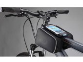 Cycling Bike Bicycle Front Top Tube Frame Pannier / Double Bag / Pouch for 5in (or lesser) Phones