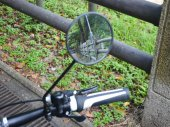 Bike Handlebar Wide Angle Lens / Rear View Reflector / Mirror / Side Mirror