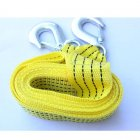 Tow Strap with Round Sling Hooks / Tie-Down Truck Straps with Sling Hooks