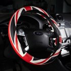 38cm British Style Union Jack Steering Wheel Cover