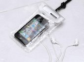 WATERWEAR - The Water Resistant holder with earphones for iPhone