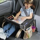 Car Kids Travel Play Tray / Car Seat Activity Tray / Toddler & Baby Stroller Tray Snack Table