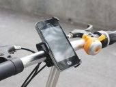 Custom-Made Bike Handlebar Mount & Holder for the iPhone 4