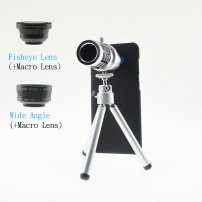 4-in-1 Lens Combo (Wide Angle + Macro + Fisheye + 12X Telephoto Lens) for Samsung Galaxy S8, S8 Plus