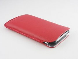 Sheepskin-Made Pouch for iPhone / iPhone 3G / 3Gs