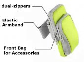 11x17cm Outdoor MultiFunctional Cell Phone Sport Bag / Sport Armband (for iPhone 6 Plus / Phablets)