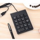 Slim Portable USB Numeric Keypad / Mini Number Pad for Windows 10, Windows 7