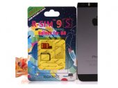 R-SIM 9S IPHONE 5S Unlocking and Activiation Card