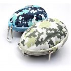 EVA Earphone / Key Carrying Case with Zipper Enclosure (Hand Grenade Shape)